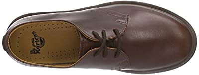 Dr. Marten's 1461 3 Eyelet, Unisex-Adults' Lace-Up Flats