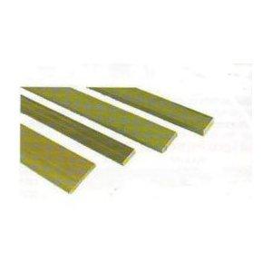 "Nickel Silver Barstock Knifemaking 1/4""X1.0""X12"""