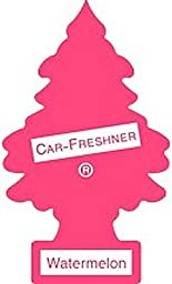 24 Pack Car Freshner 10320 Little Trees Air Freshener Watermelon Scent - Single Tree per Package
