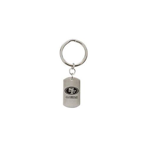 24584 St Steel 35mm San Francisco 49Ers NFL Football Team Jewelry Men Keychain