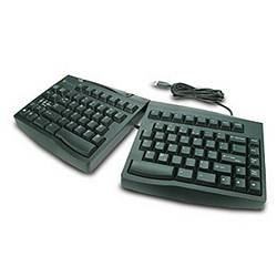 Goldtouch Adjustable Keyboard - Keyboard - QWERTY - USB - black