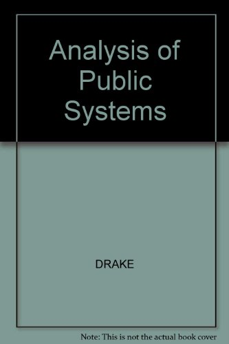 Analysis of Public Systems