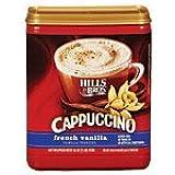 Hills Bros Cappuccino French Vanilla 16oz