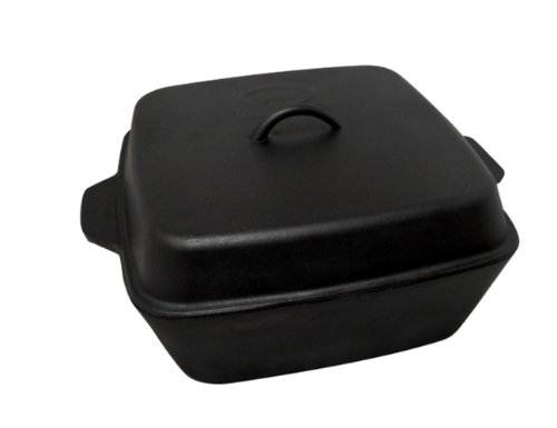 King Kooker CIOR12S Seasoned Cast Iron Roaster with Lid, 12-Quart (12qt Roaster compare prices)