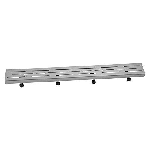 [해외]Jaclo 6220-32-BSS 선 창 살, 32, 닦 았 스테인레스 스틸/Jaclo 6220-32-BSS Line Grate, 32 , Brushed Stainless Steel