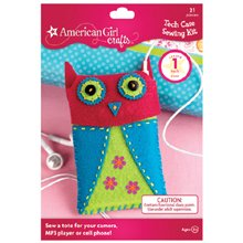 American Girl Tech Case Sewing Kit