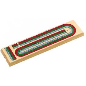 3 Color Track Cribbage Board