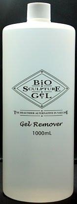 バイオスカルプチュアジェル リムーバー 1000mL Gel Remover 爪をいたわりながらジェルをソークオフ