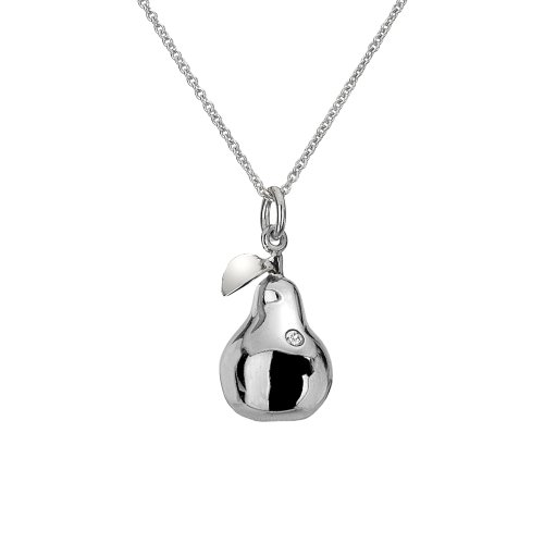 Hot Diamonds Silver Pear Pendant