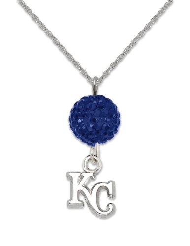 MLB Kansas City Royals LogoArt Ovation Necklace at Amazon.com