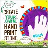 Creative Roots Create Your Own Hand Print Stepping Stone