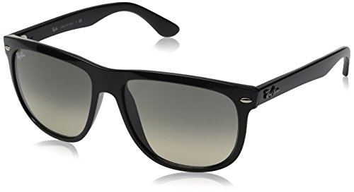 ray-ban-lunette-de-soleil-polarise-rb4147-black-frame-grey-gradient-lens-medium