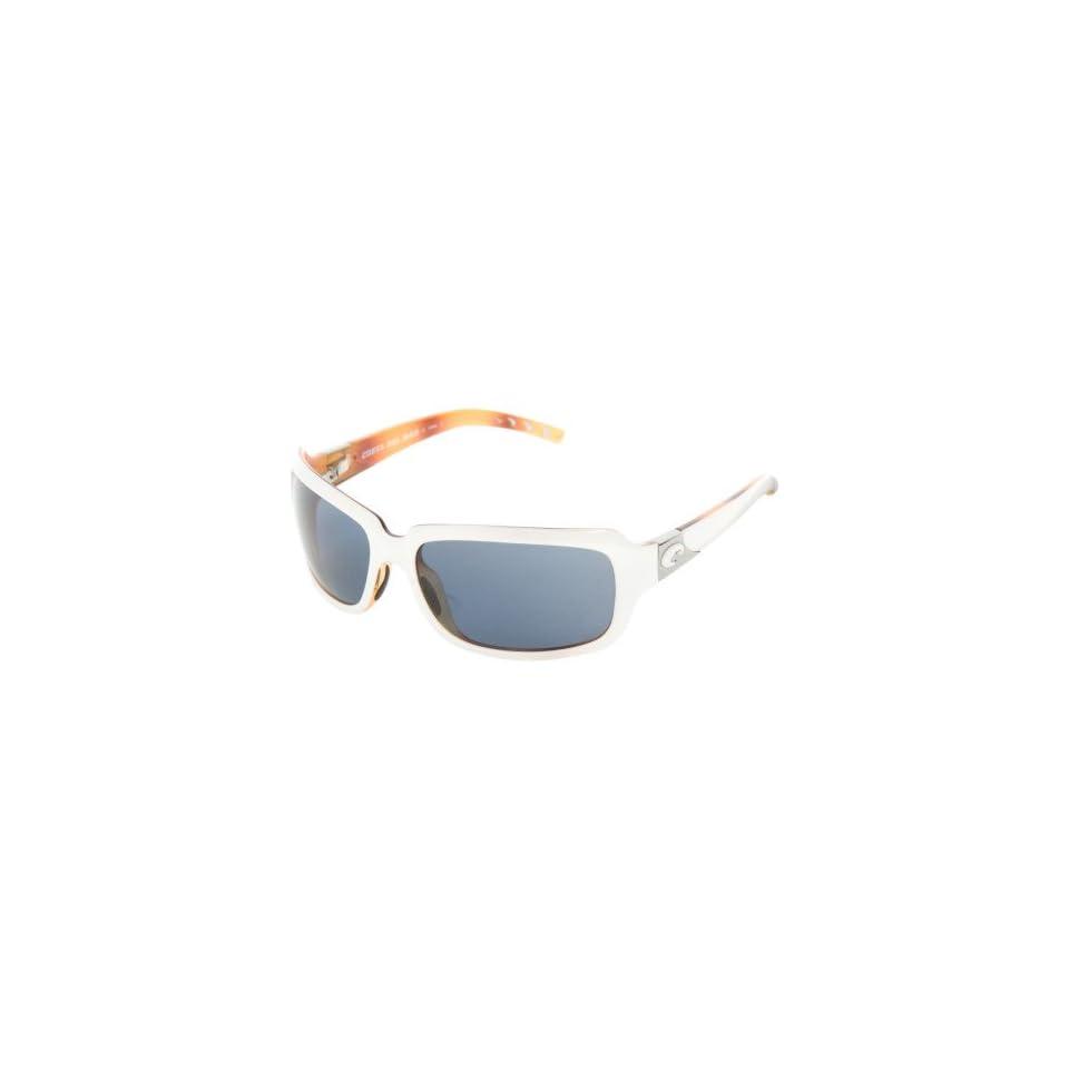 cf37e5f4d34d5 Isabela Polarized Sunglasses Costa 580 Polycarbonate Lens  White Tortoise Gray