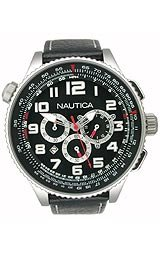 Nautica Chronograph Ocean 46 Black Dial Men's watch #N25012G