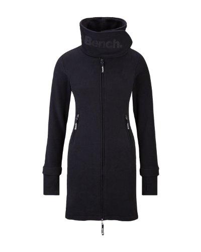 Xs Bench: ZIP TROUGH FUNNEL NECK Fleece 2011 Black