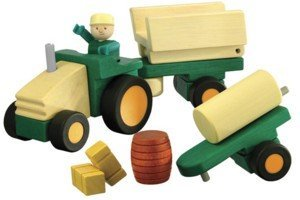 WoodyClick Construction System, Farm Tractor - Buy WoodyClick Construction System, Farm Tractor - Purchase WoodyClick Construction System, Farm Tractor (Hape International, Toys & Games,Categories,Play Vehicles,Wood Vehicles)