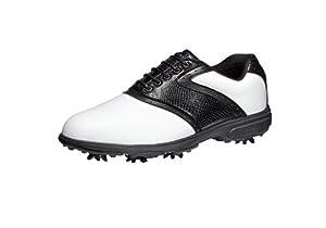Buy Etonic Lite-Tech IV Golf Shoes White Black Size 13M by Etonic
