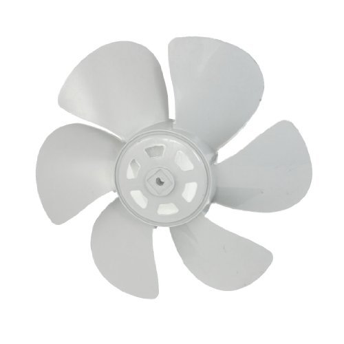 "dealX Amico Exaust Ventilator Motor 8mm Nabenbohrungs 12 ""Plastic Fan Blade"