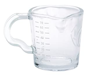 Rattleware 3-Ounce RW Logo Shot Pitcher, Glass