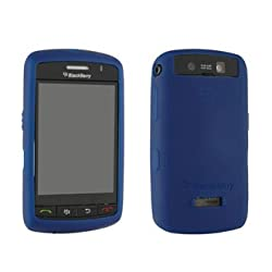 Blackberry Storm (9500/9530) Dark Blue Skin Case