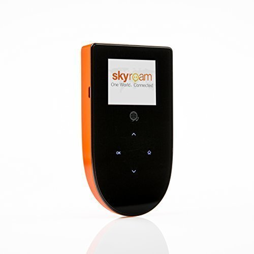 Skyroam Mobile Hotspot: Global WiFi // Unlimited Data // Connect 5 Devices // Pay-as-you-go // SIM-Free Coverage in Europe, North and South America, Asia, Africa, Australia (Mobile Hotspot No Contract compare prices)