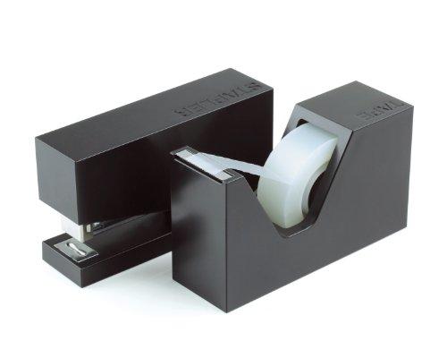 Lexon Buro 2er-Set, schwarz