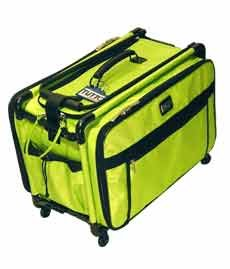 Large Lime Tutto Mascot Sewing Machine on Wheels Carrier Case (Sewing Machine Storage Case compare prices)