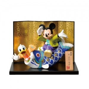 Doll Mickey Mouse Donald Duck carp latest Children's Day - Tokyo Disney Resort May 2013 limited]