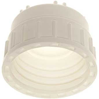 Nalgene 2135-8300 Polysulfone Top Works Silicone Top 83B Screw Closure, Autoclavable