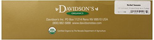 Davidson'S Tea Single Serve Herbal Seasons, 100-Count Tea Bags front-1056354