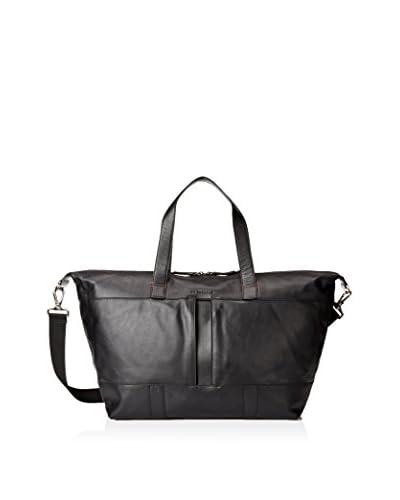 Le Tanneur Men's Sac Homme 24H Bag, Noir