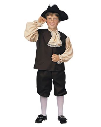 Colonial Boy Costume - Kid's Costumes