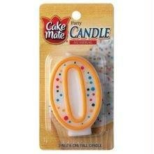 Cake Mate Numeral 0 Birthday Candle - 1