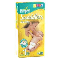 Pampers Swaddlers Diapers 44-pk. - 1