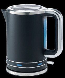 IGENIX IG7800JUN11 1.7 LITRE JUG KETTLE BLK WITH CHRM ACCENTS from Igenix