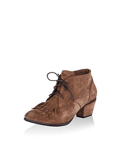 Bueno Zapatos abotinados Marrón