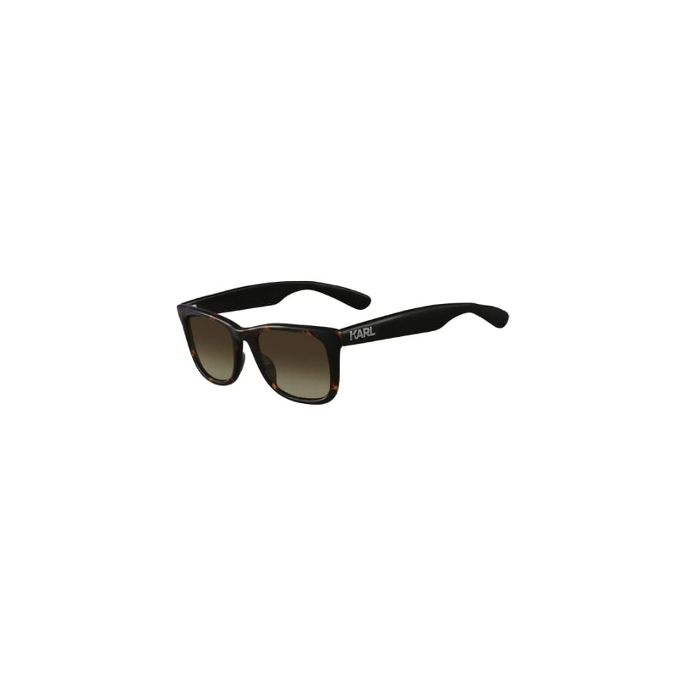 48ad9e4185 KARL LAGERFELD Sunglasses KS6001 129 Havana 52MM at Men s Clothing store