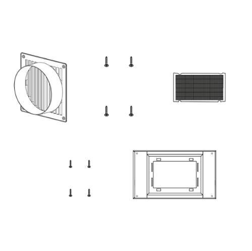 Zephyr ZRC-0100 Recirculating Kit for Twister Hood Inserts, NA (Zephyr Twister compare prices)