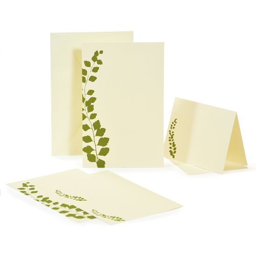 Cathy's Concepts Botanical Green Invitations Kit