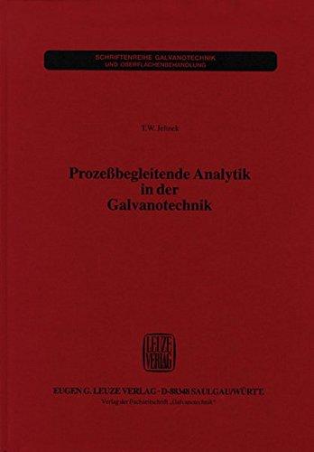 Prozessbegleitende Analytik in der Galvanotechnik