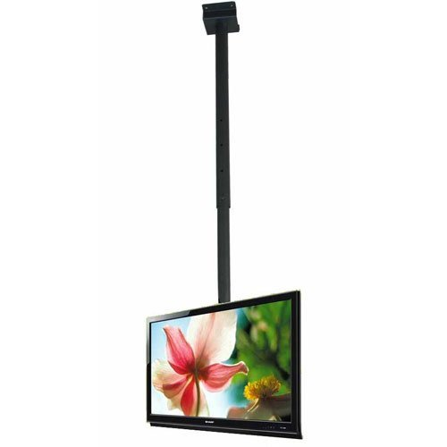 Videosecu Tv Ceiling Mount For Most 32-55 Inches Lcd Led Plasma Flat Panel Display With Vesa From 200X100 To 600X400Mm Mpc53B 3S5