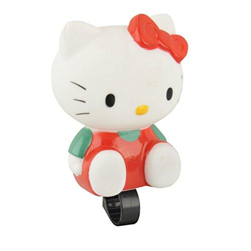 Bike Fashion 62315 - Campanello da bici Hello Kitty, colore: Bianco