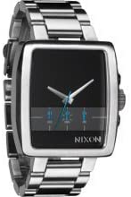 Nixon Men's Supertide A324000 Silver Stainless-Steel Quartz Watch