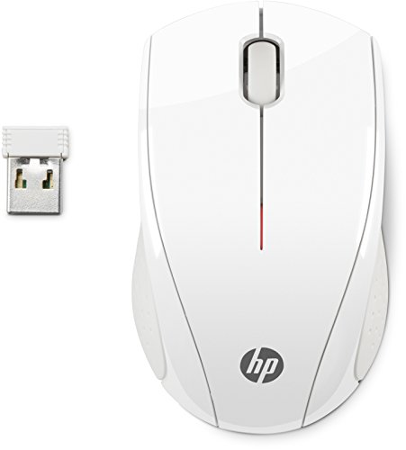 HP X3000 Mouse Wireless, Bianco