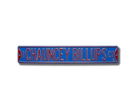 1 Chauncey Billups Court Ct Sign 6 x 36 NBA Basketball Street Sign1 Chauncey Billups Court Ct Sign 6 x 36 NBA Basketball Street Sign