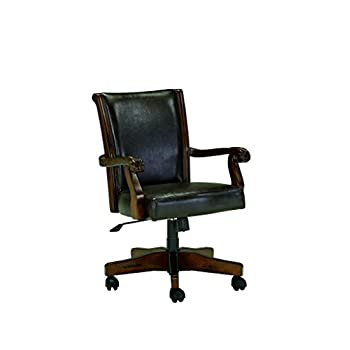 Signature Design by Ashley Alymere Home Office Swivel Desk Chair, Vintage Brown