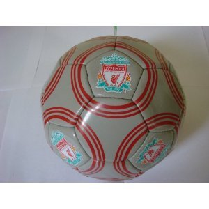 OFFICIAL LIVERPOOL MULTI CREST FOOTBALL SIZE 5