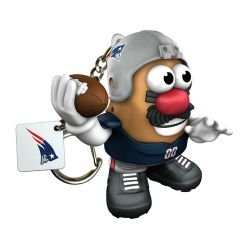 Nfl New England Patriots Mr Potato Head Keychain front-910580