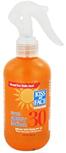 Kiss My Face - Sun Spray Lotion 30 SPF