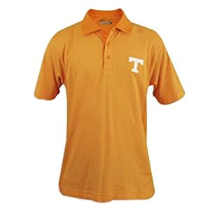 Tennessee Volunteers Mens Cutter and Buck Drytec Resolute Polo by Cutter & Buck